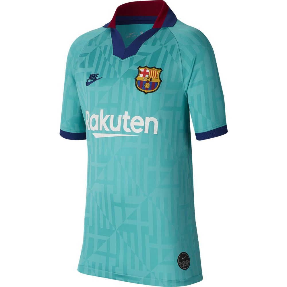 Nike FC Barcelona 2019/20 Stadium Third Big Kids' Soccer Jersey
