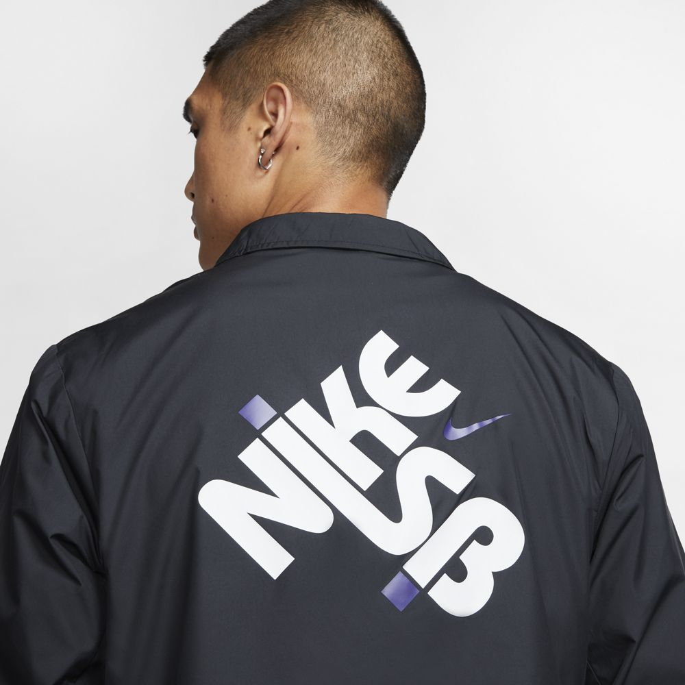 Nike SB Men's Skate Jacket - Black/White