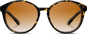Shwood Bailey Acetate Sunglasses - Dark Speckle/Ebony/Brown Fade