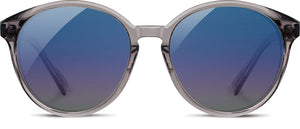 Shwood Bailey Acetate Sunglasses - Smoke/Ebony/Blue Fade