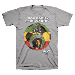 Bob Marley Kaya 78 World Futbol T-shirt