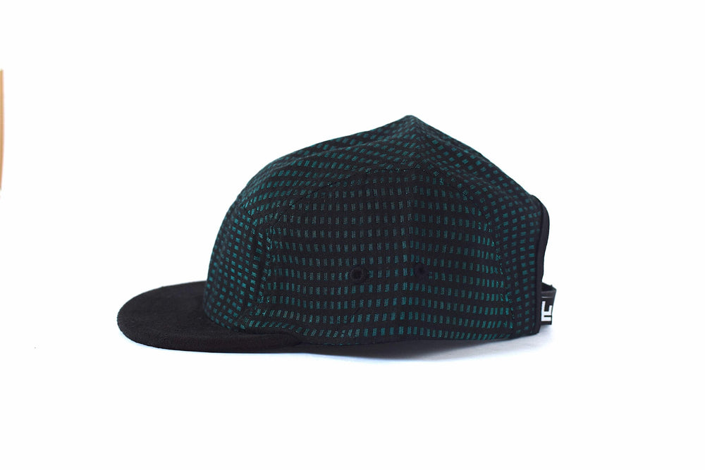 Lower Park Noche Jade 5-Panel Short Brim