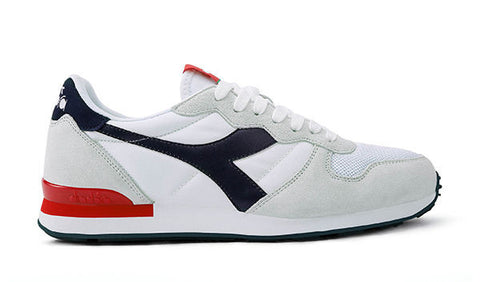 Diadora Camaro Sneakers - White/Blue Nights/Poppy Red