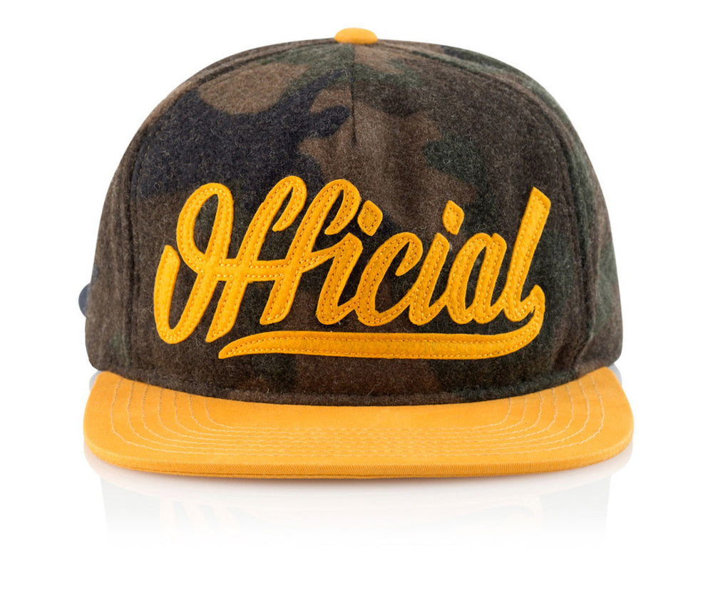 Official Headwear - Wooly Camo
