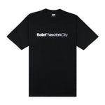 Belief NYC City Tee - Black