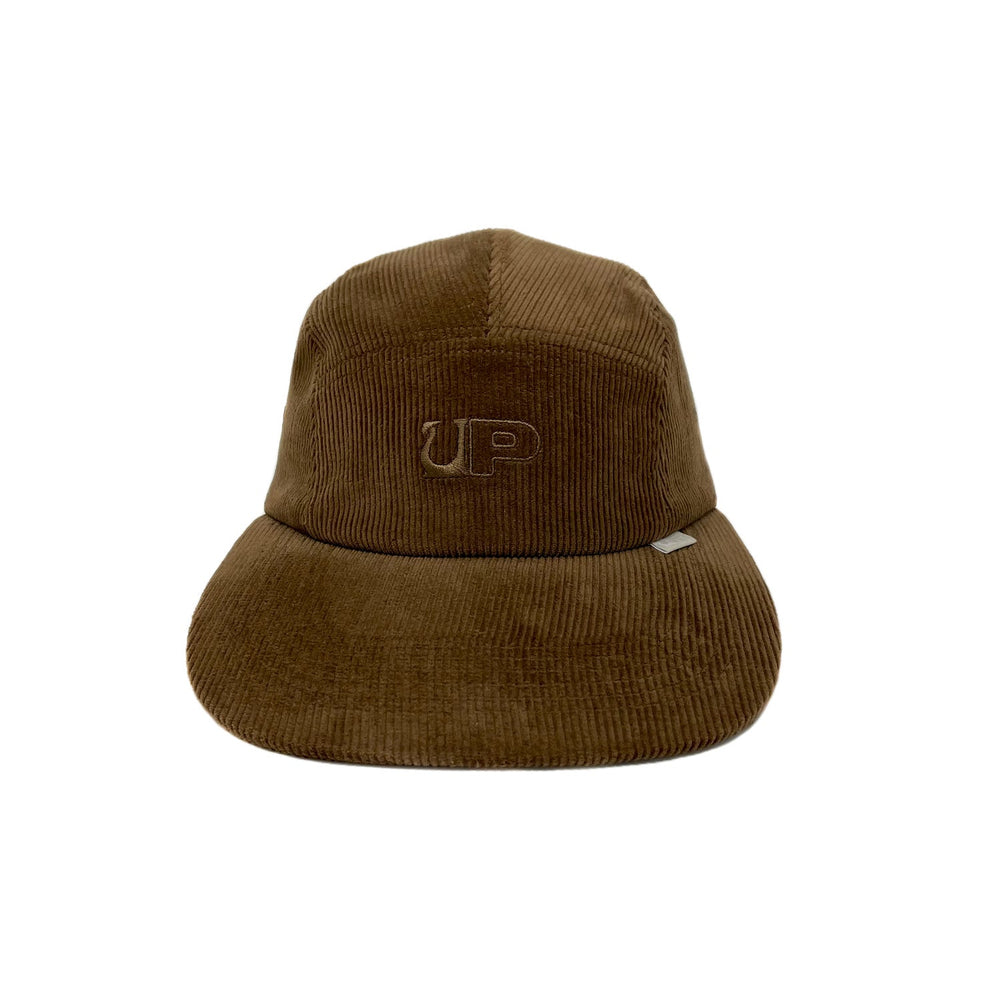 Utopian Projects Patrol Long Bill - UP09 Corduroy - Bark Brown