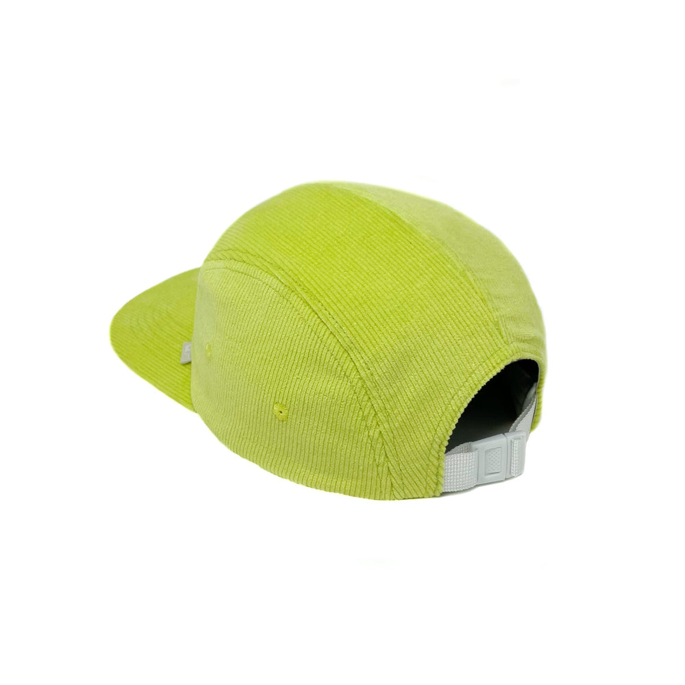 Utopian Projects Patrol Long Bill - UP09 Corduroy - Neon Lime
