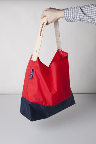 July Nine Two Tone (Large) - Red/Navy