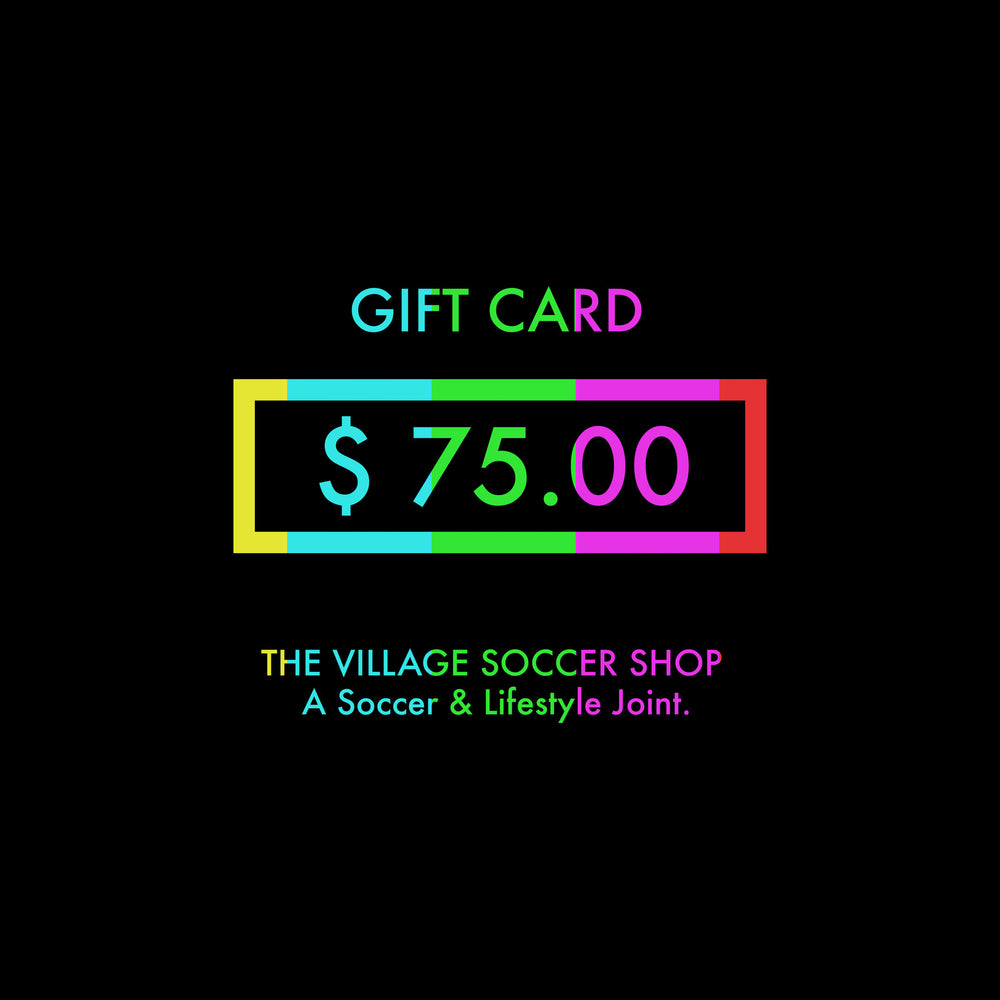 $ 75 Gift Card