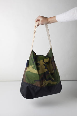 July Nine Two Tone (Large) - Camo/Black