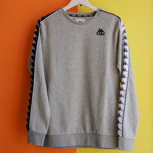 Kappa 222 Banda Arbir Crewneck - Heather Grey