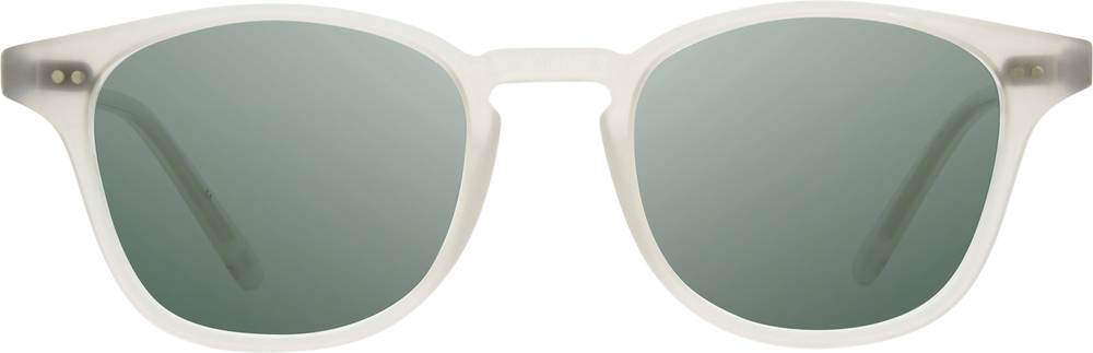 Shwood Kennedy Acetate Sunglasses - Bone - G15 Polarized