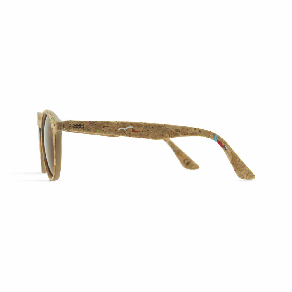 Parafina Laguna Sunglasses - Painted Cork/Royal Caramel