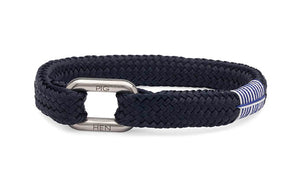 PIG & HEN - Limp Lee Rope Bracelet - Navy - Village Soccer Shop