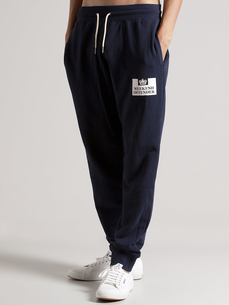 Weekend Offender Jog Pant Classic - Navy - The Village Soccer Shop