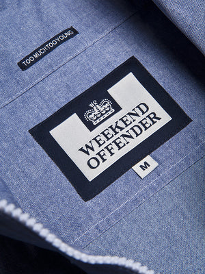 Weekend Offender Renegade Jacket - Blue Denim