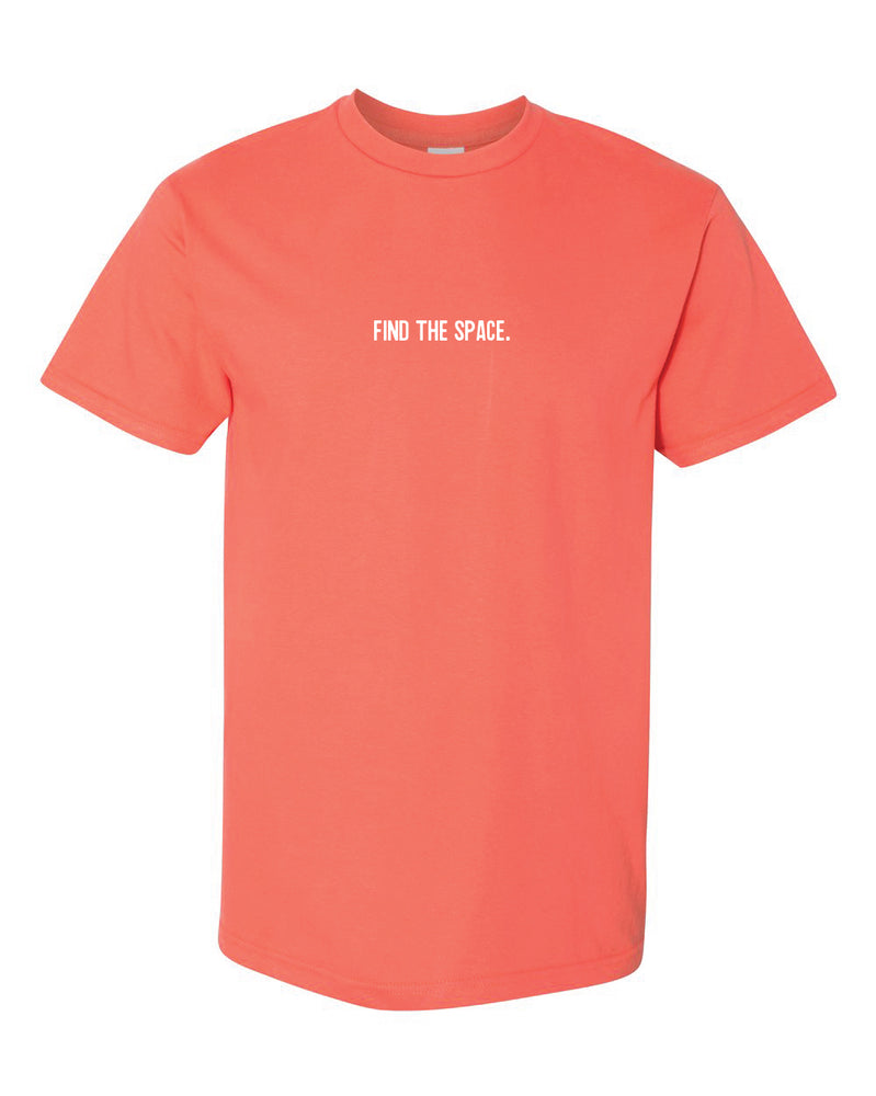 MIDFLD Find The Space & Unite T-Shirt - Salmon