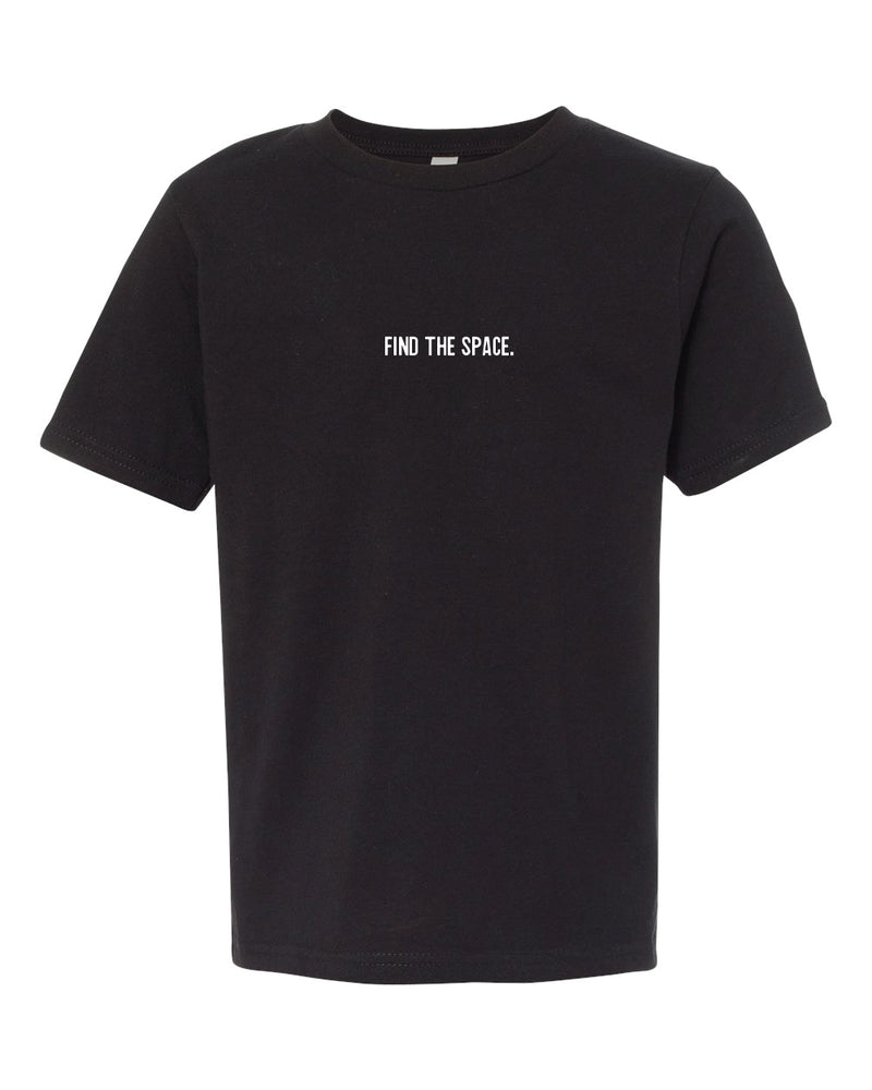 MIDFLD Find The Space & Unite Youth T-Shirt - Black