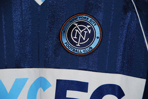 Mitchell & Ness NYCFC Penalty Kick V-Neck Jersey