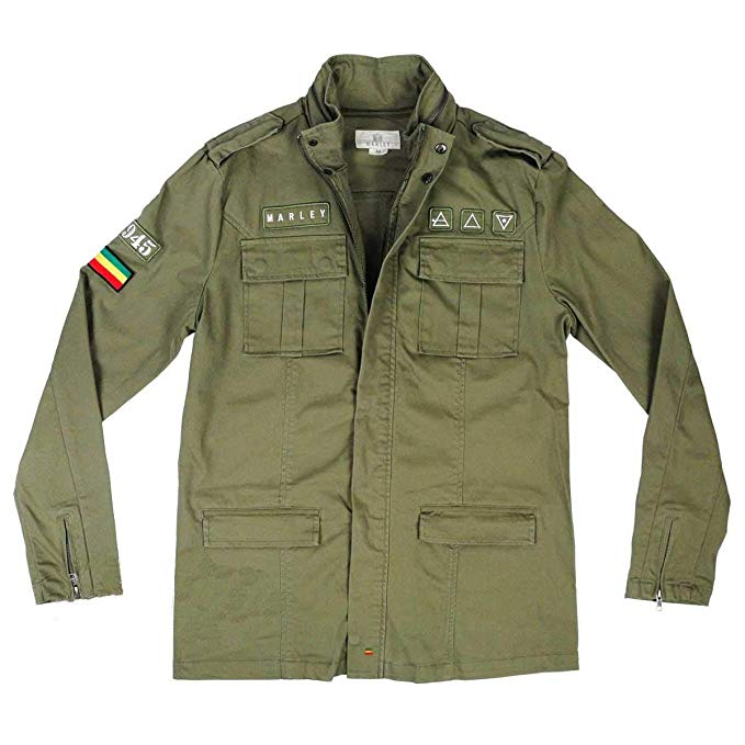 Bob Marley Military M-65 Jacket