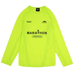 Belief NYC Marathon Mesh Jersey - Safety Yellow