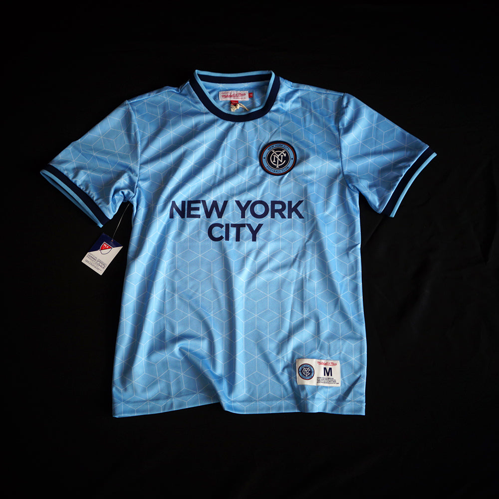 Mitchell & Ness New York City FC Equalizer Short Sleeve Jersey - Village Soccer Shop