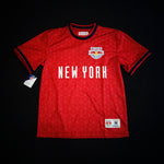 Mitchell & Ness New York Red Bulls Equalizer Short Sleeve Jersey