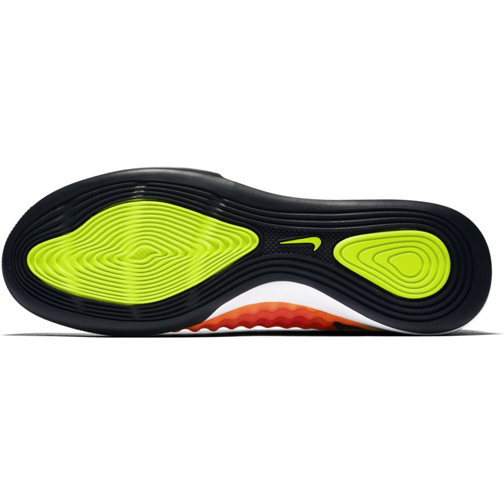 58025ed1f Nike MagistaX Finale II TF Turf Shoes - Volt Black-Total Orange-Pink ...