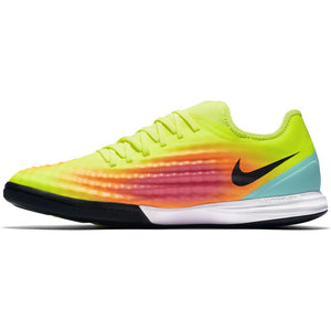Nike MagistaX Finale II TF Turf Shoes -  Volt/Black-Total Orange-Pink Blast