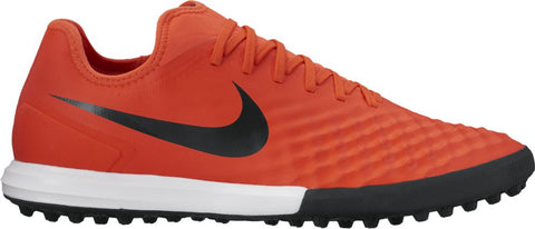 Nike MagistaX Finale II TF Turf Shoes -  Max Orange/Black-Total Crimsom