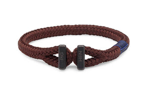 PIG & HEN - Padre Paco Rope Bracelet - Brown - Village Soccer Shop