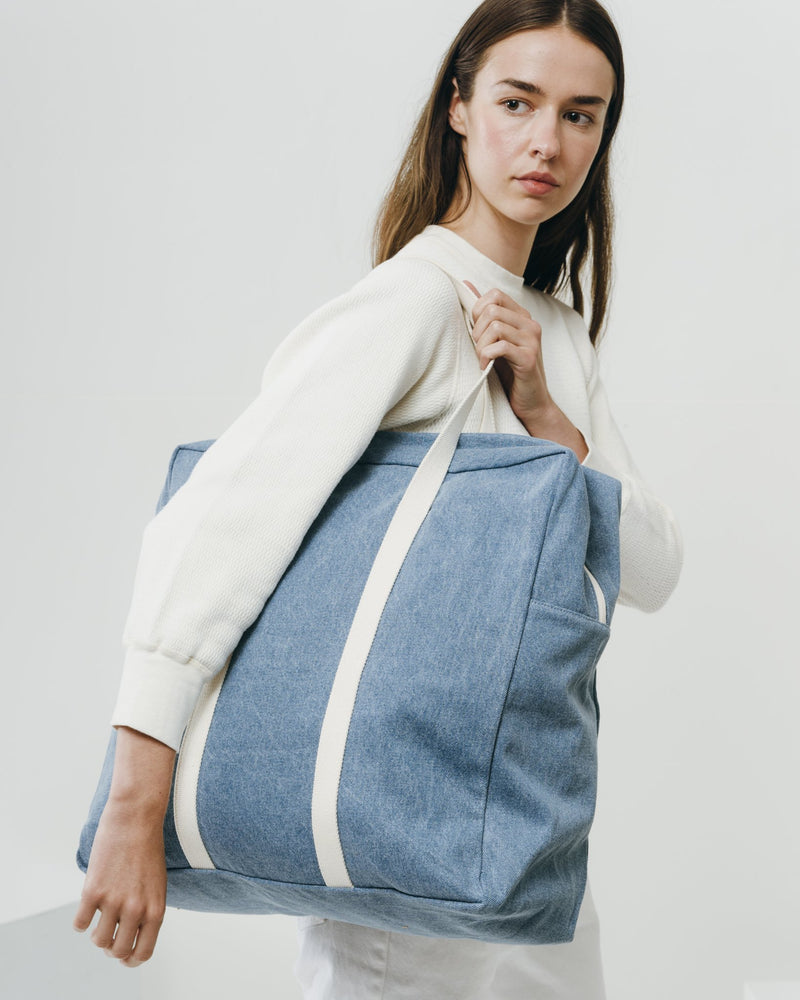 Baggu Safari Bag - Washed Denim