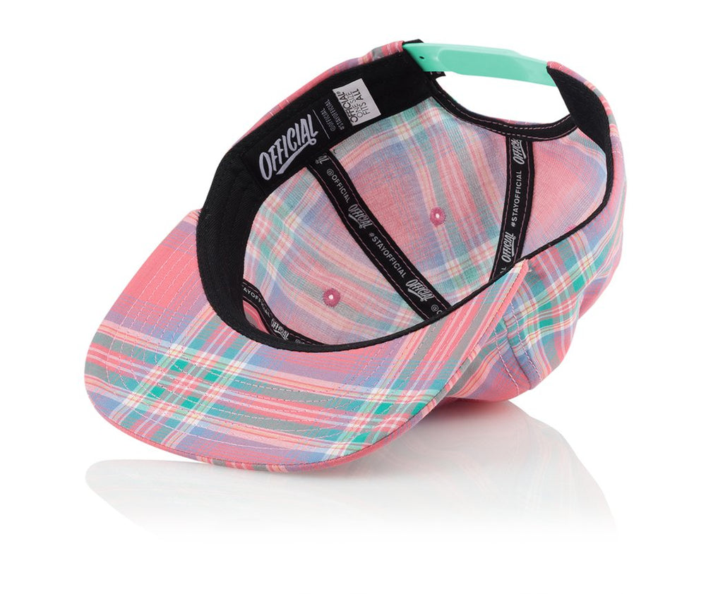 Official Headwear - Nautique Flag Pink - Village Soccer Shop