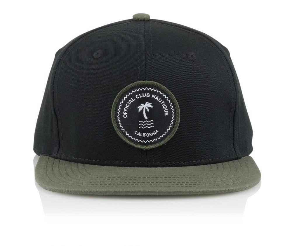Official Headwear - Nautique Patch Black