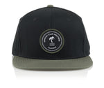 Official Headwear - Nautique Patch Black - Village Soccer Shop