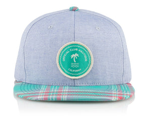 Official Headwear - Nautique Patch Blue - Village Soccer Shop