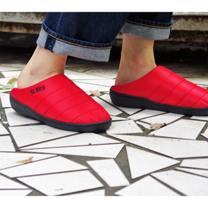 SUBU Tokyo Fall & Winter Slippers - Red