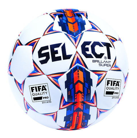 Select Sport Brillant Super Soccer Ball - White