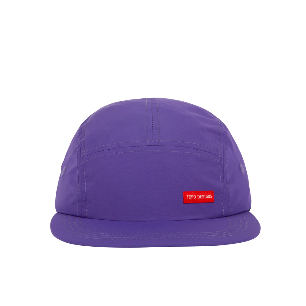 Topo Designs Nylon Camp Hat - Purple