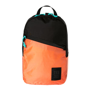 Topo Designs Light Pack - Black/Coral