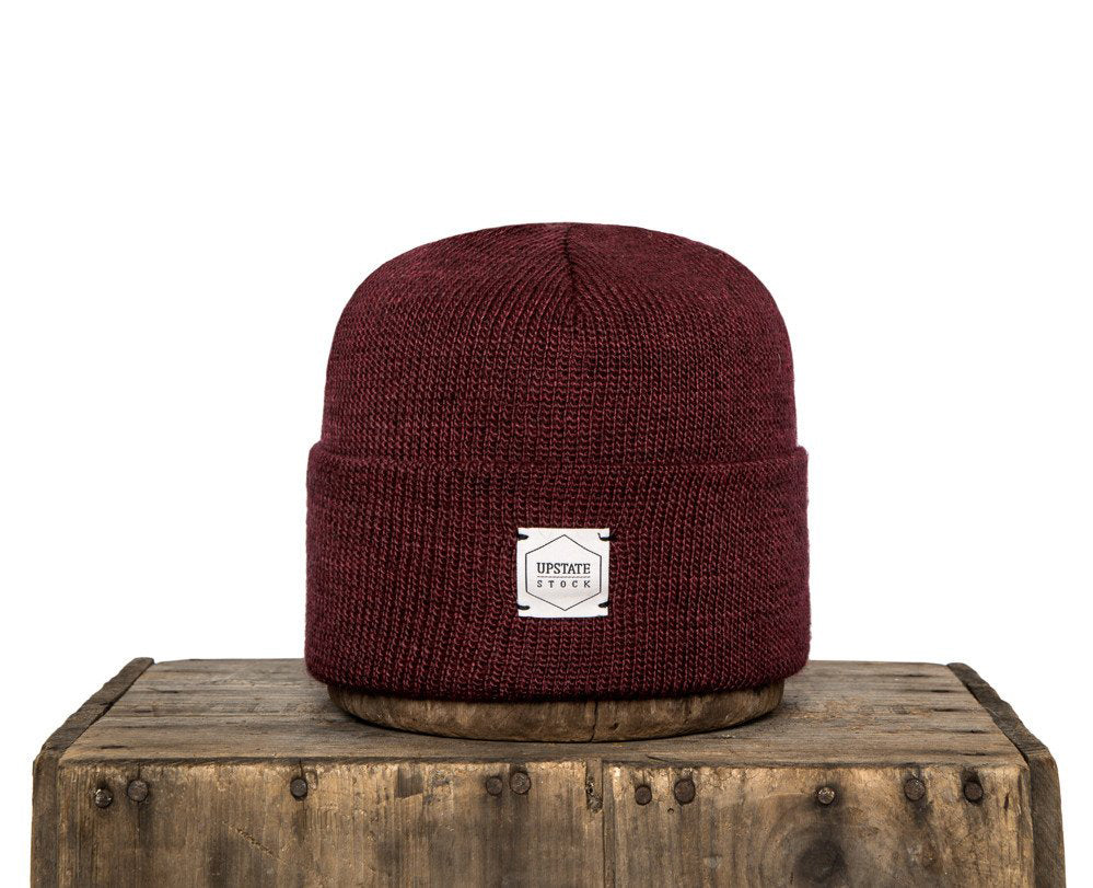 Upstate Stock American Mohair Beanie - Blood