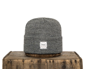 Upstate Stock American Mohair Beanie - Grey