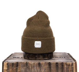Upstate Stock 100% Wool Watchcap- Coyote