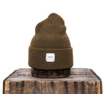 Upstate Stock 100% Wool Watchcap- Militia Brown