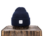 Upstate Stock 100% Wool Watchcap- Navy