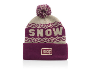 Official Headwear - Snow Daze Pom Burg