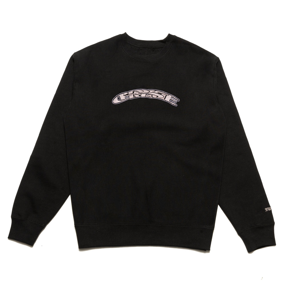 Chrystie NYC x Soho Warriors - SWFC Twisted logo crewneck / Black
