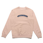 Chrystie NYC x Soho Warriors - SWFC Twisted logo crewneck / Light Pink