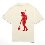 Chrystie NYC x Soho Warriors - SWFC FNL Warrior T-shirt / Cream