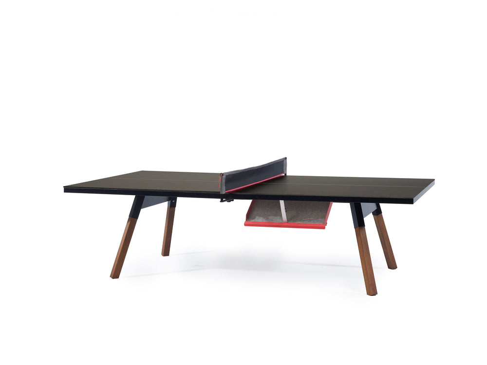 You and Me Ping Pong Table - Standard Black